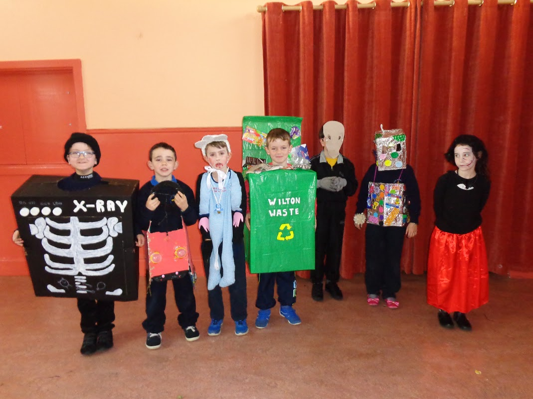 Green school and Camogie 108