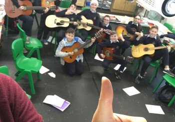 Merry Christmas from the 5th & 6th Guitar Group