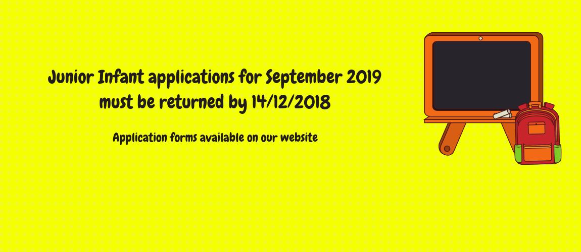 2019 Applications