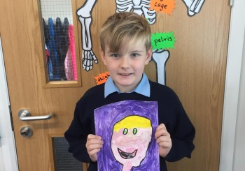 Self-portraits in 3rd and 4th Class