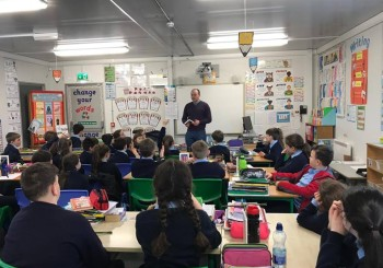 A Visit from an Author