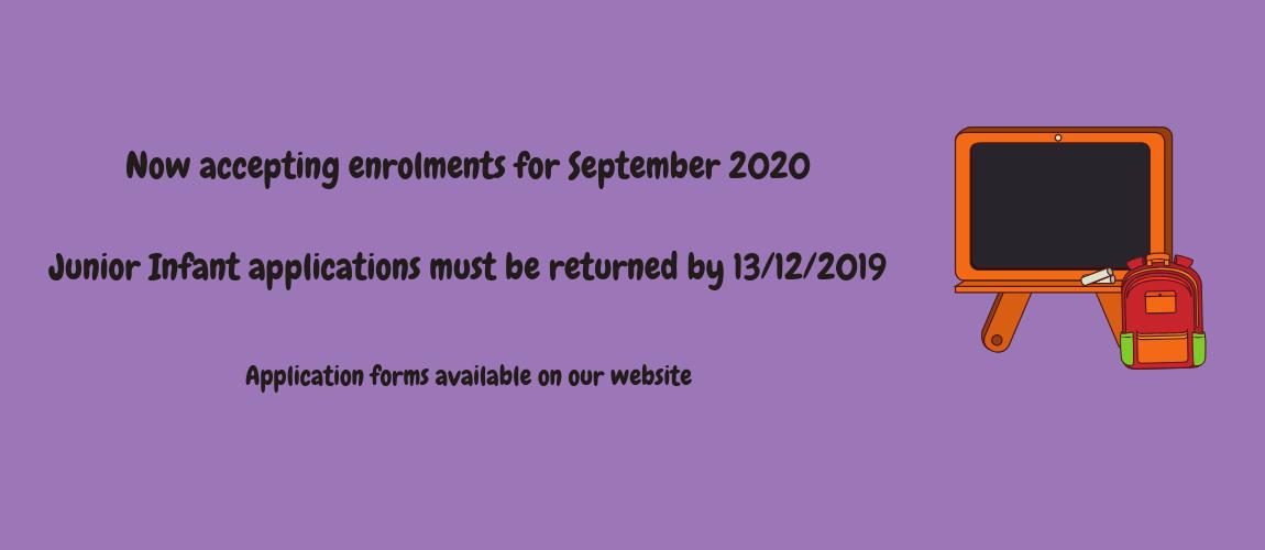 Enrolment 2020