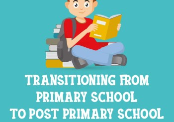 Supporting your Child`s move from Primary to Post Primary School