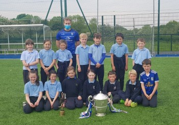 A visit from the Anglo Celt Cup